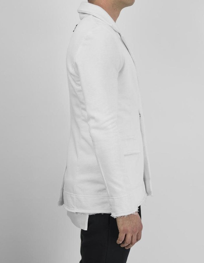 DAVIDS ROAD COTTON BLAZER - WHITE