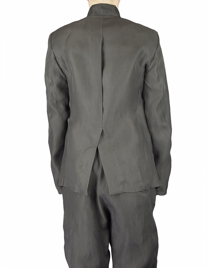 LOST AND FOUND SILK TAILORED JACKET