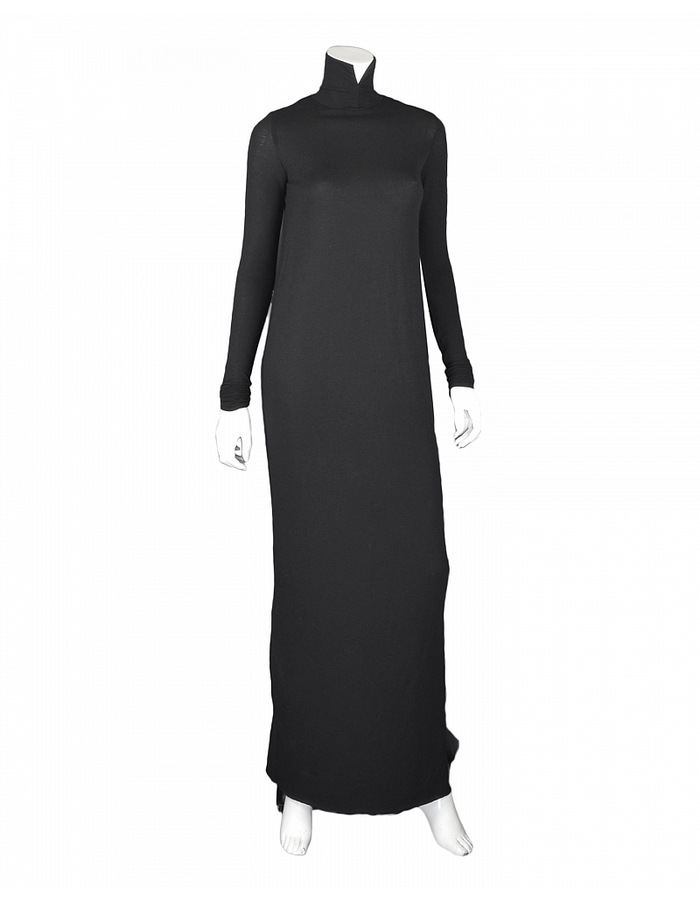 DAVIDS ROAD MAXI TURTLE NECK DRESS