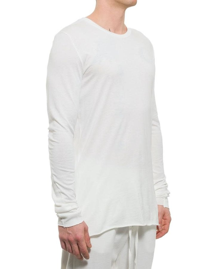 THOM KROM COTTON AND MODAL LONG SLEEVE - OFF WHITE