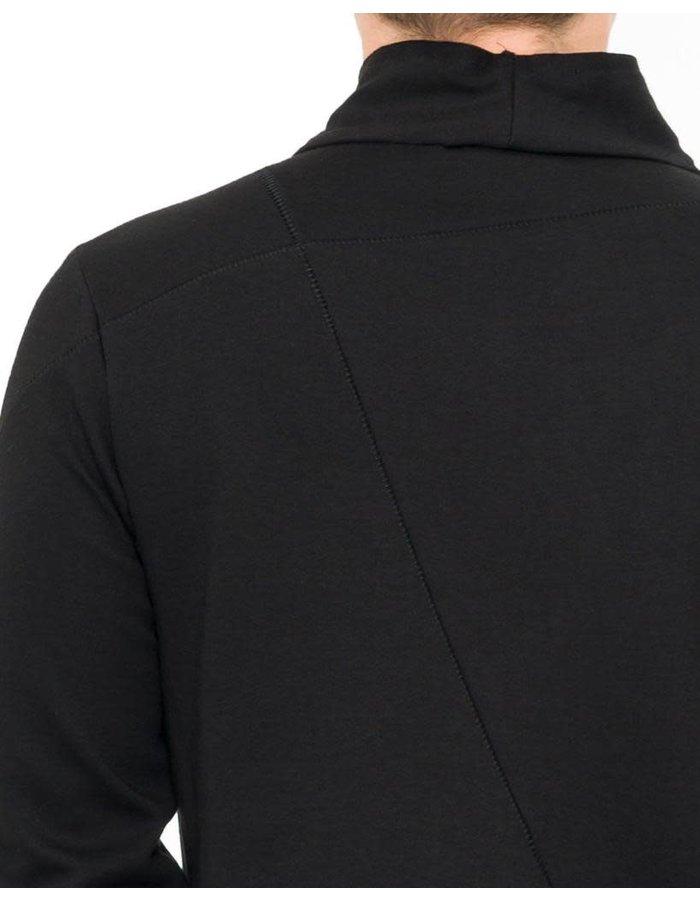 THOM KROM HIGH NECK ZIPPER JACKET - BLACK