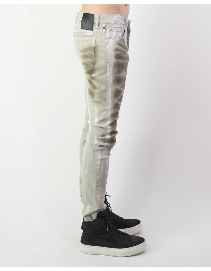 FAGASSENT ANDERSON - SCALE COATED SLASH DENIM