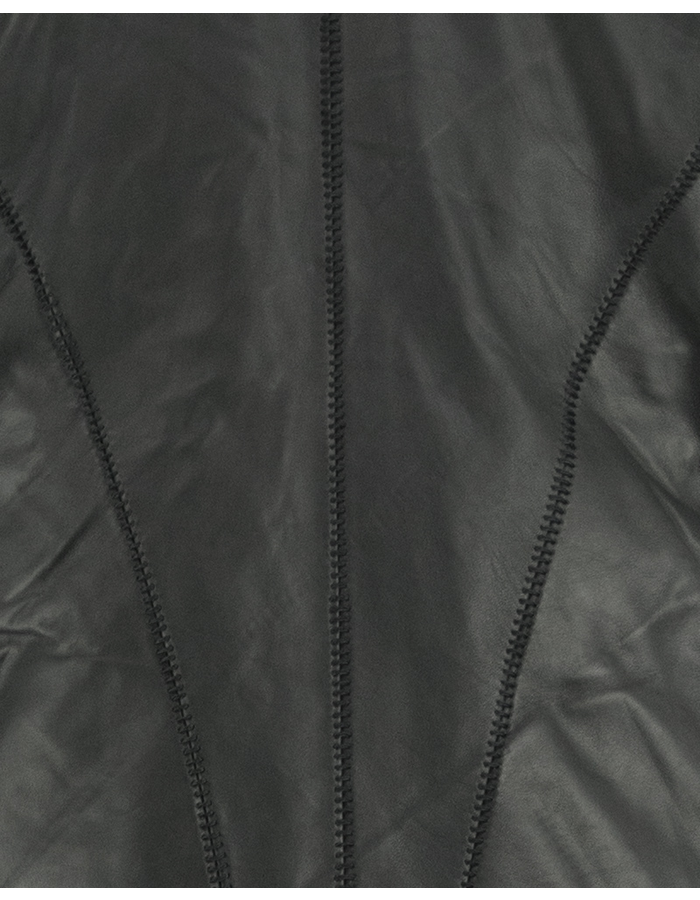 10SEI0OTTO LEATHER DOWN DOUBLE HOODED JACKET