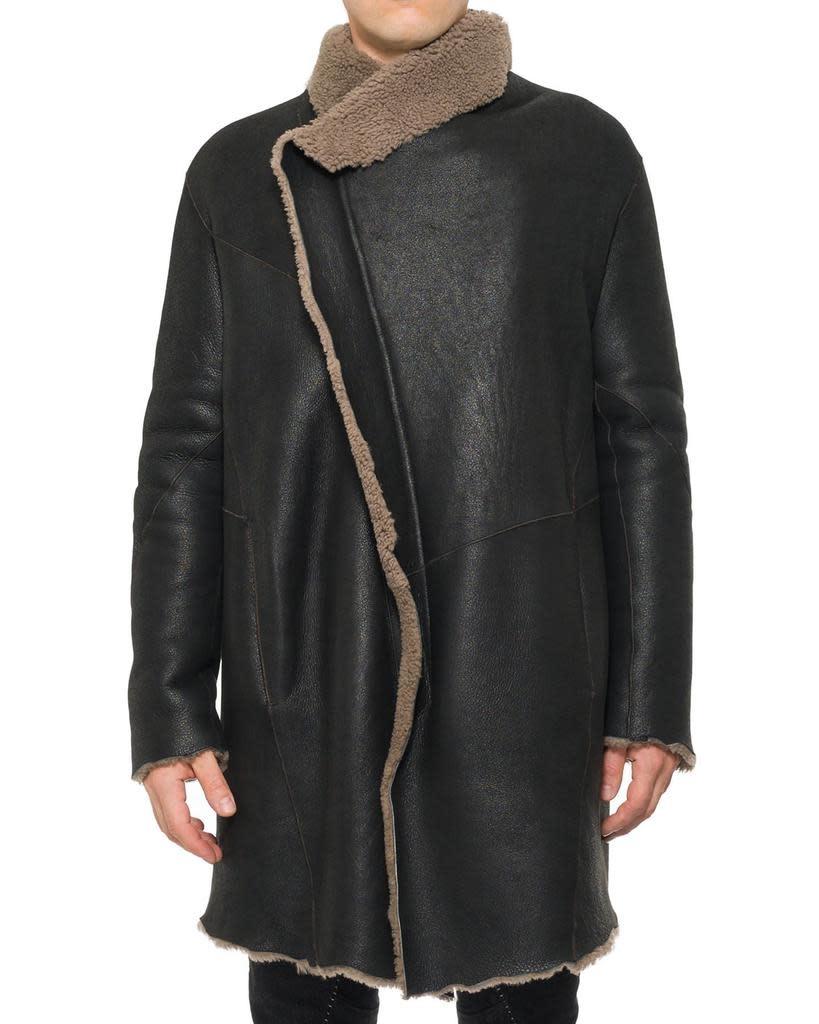 RAW SHEEPSKIN COAT
