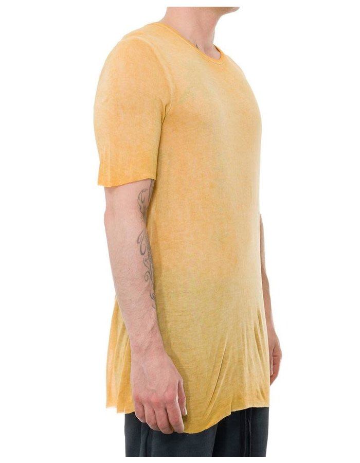 THOM KROM SHORT SLEEVE T-SHIRT - YELLOW