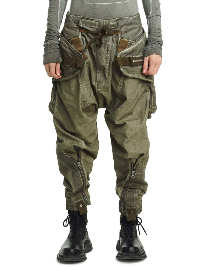 HAMCUS BERSERKER MANTA CARGO PANTS - DEEP DEPTH