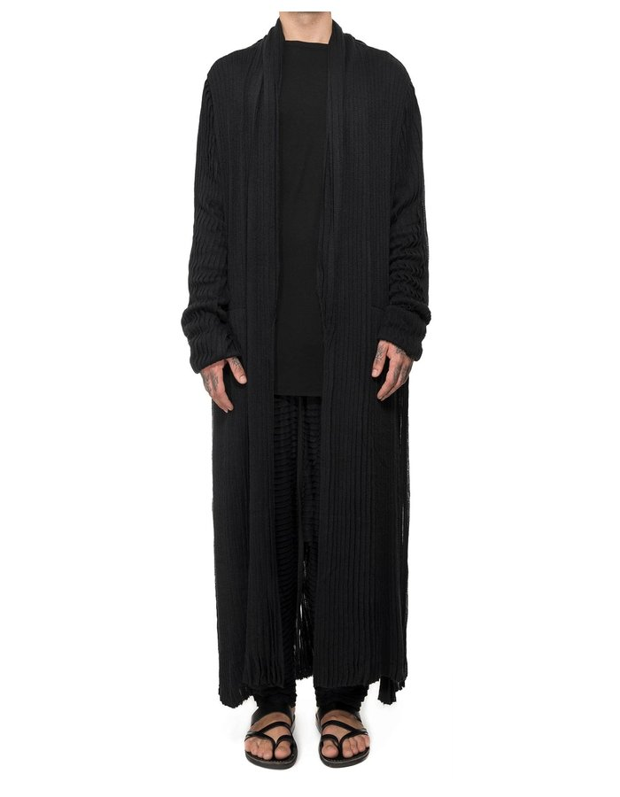 DAVIDS ROAD PLEATED VISCOSE TUXEDO ROBE