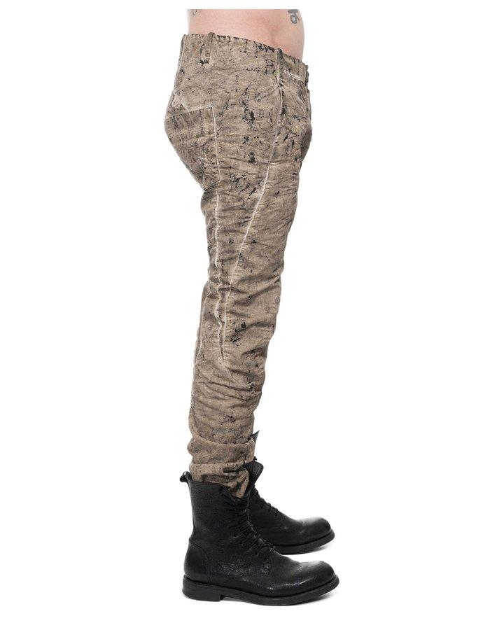 MASNADA CURVED DART PANTS - SAND ROCK