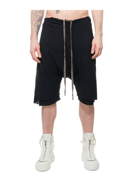 FIRST AID TO THE INJURED PETRI SHORTS SS20 - BLACK