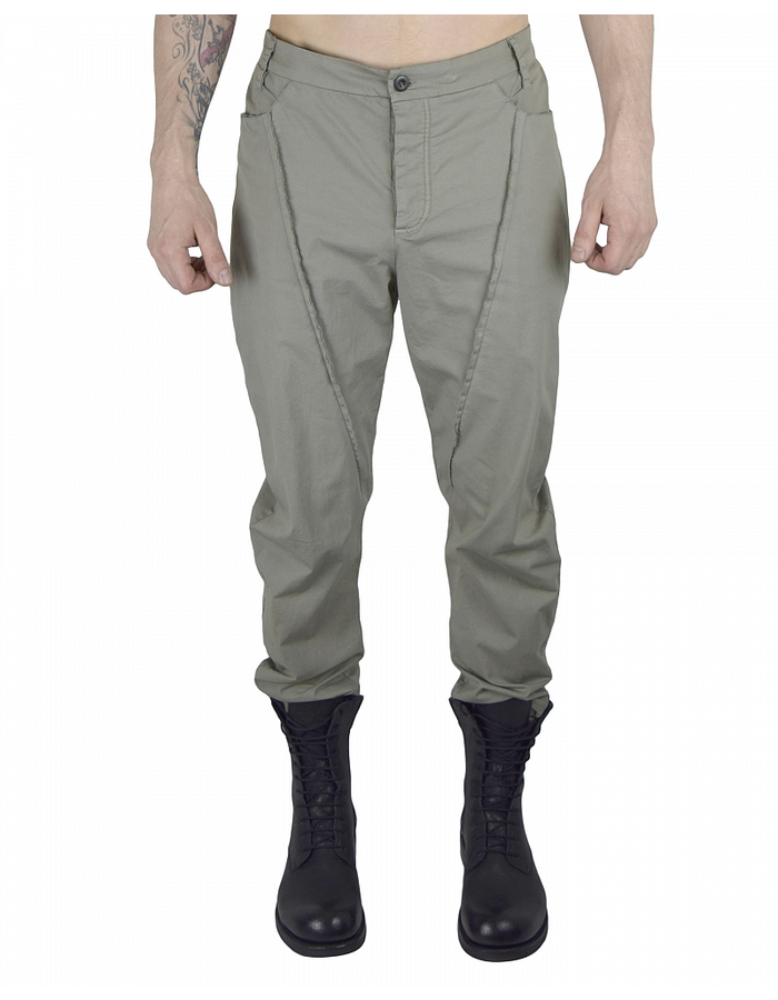 LOST AND FOUND ROOMS COTTON STRETCH 5 POCKET PANT - SAGE