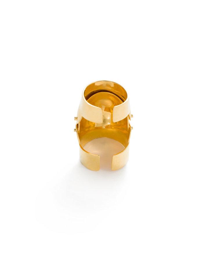 FANGOPHILIA INNER JOINT RING - GOLD