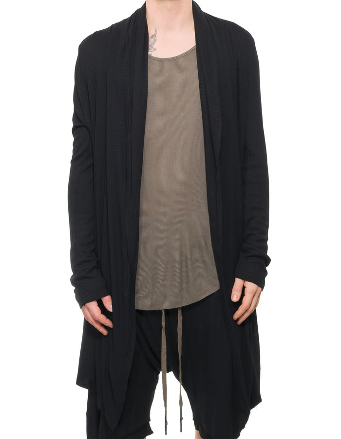 FIRST AID TO THE INJURED RUFRIUS CARDIGAN - BLACK