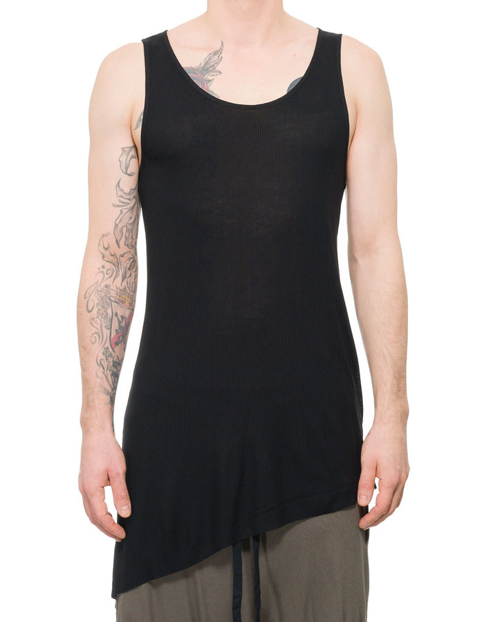 FIRST AID TO THE INJURED PATELLA TANK - BLACK