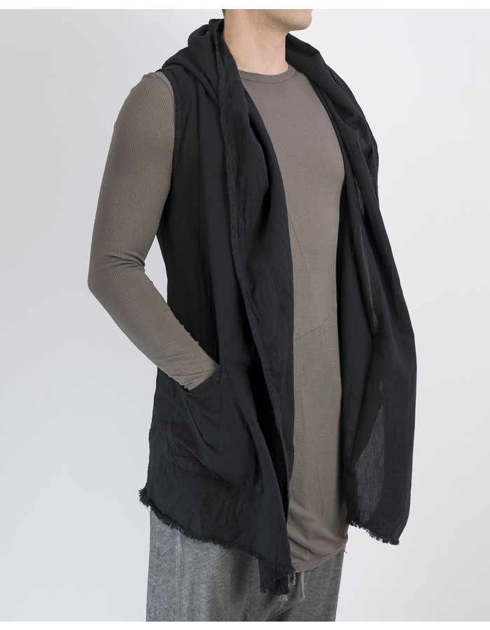 FIRST AID TO THE INJURED STERNUM WAISTCOAT 19 - BLACK