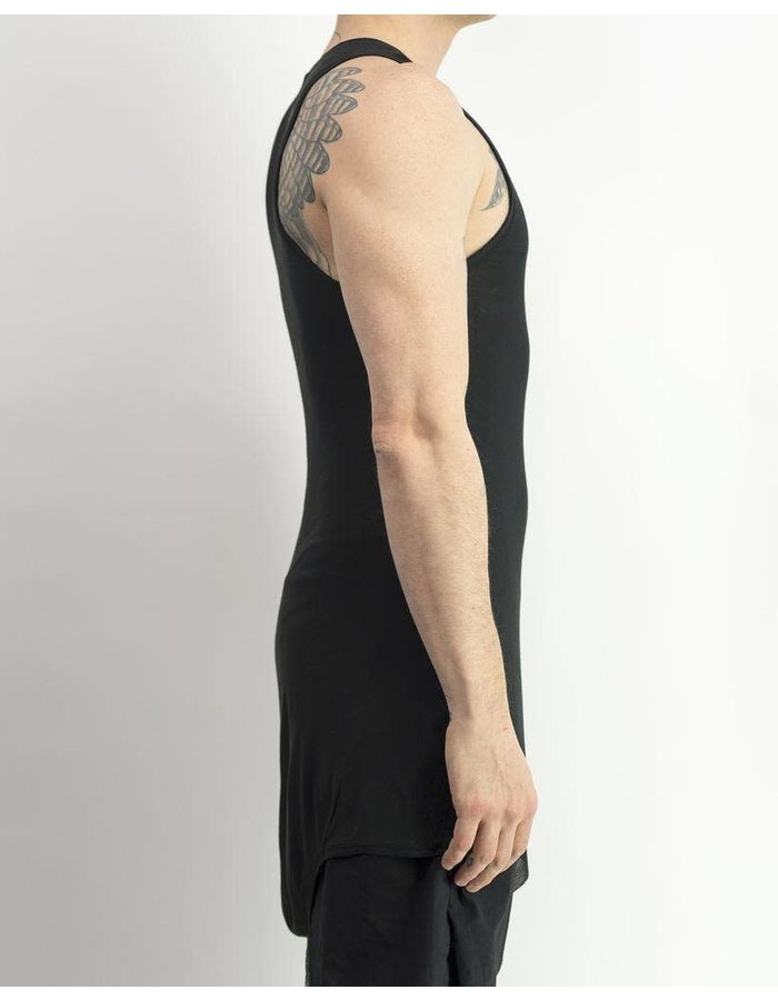 FIRST AID TO THE INJURED VERTEBRAE TANK - BLACK