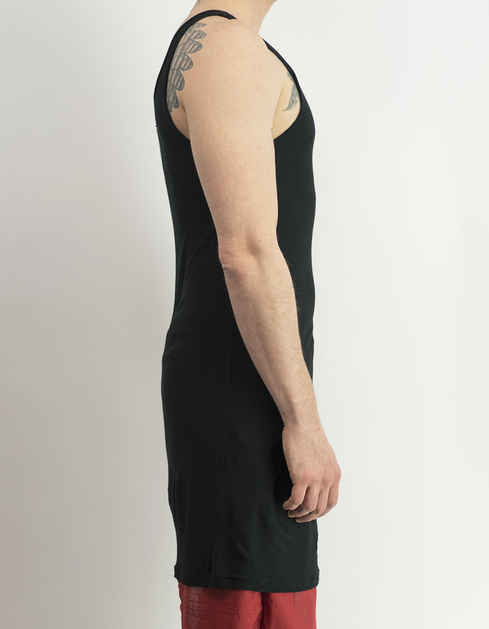 FIRST AID TO THE INJURED LUNATE LONG TOP - BLACK