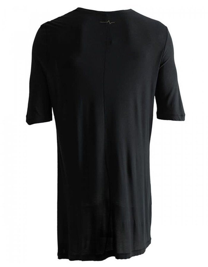 FIRST AID TO THE INJURED LUNATE LONG TEE - BLACK