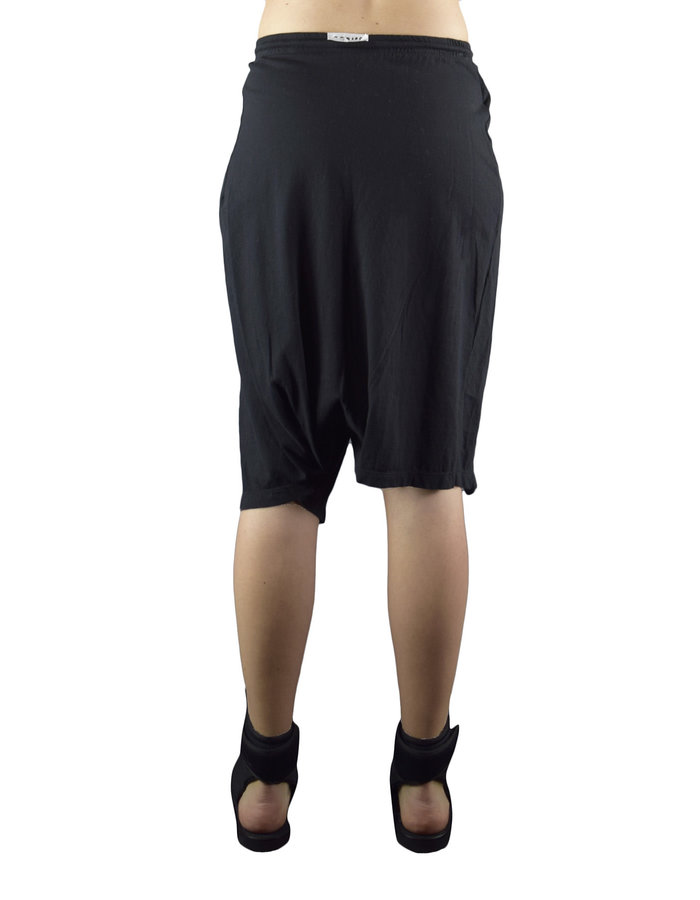 LOST AND FOUND ROOMS SKIRT PANTS - BLACK