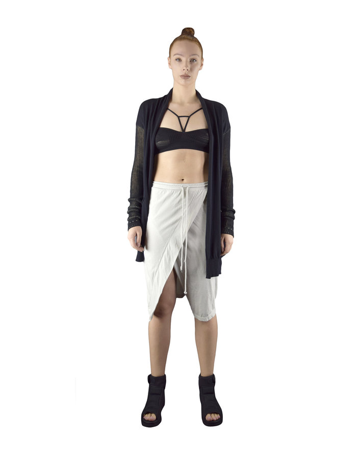 LOST AND FOUND ROOMS SKIRT PANTS - ICE