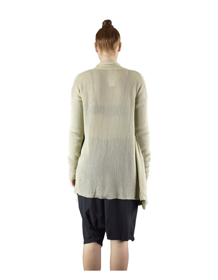 LOST AND FOUND ROOMS TWO POCKET CARDIGAN - SAND