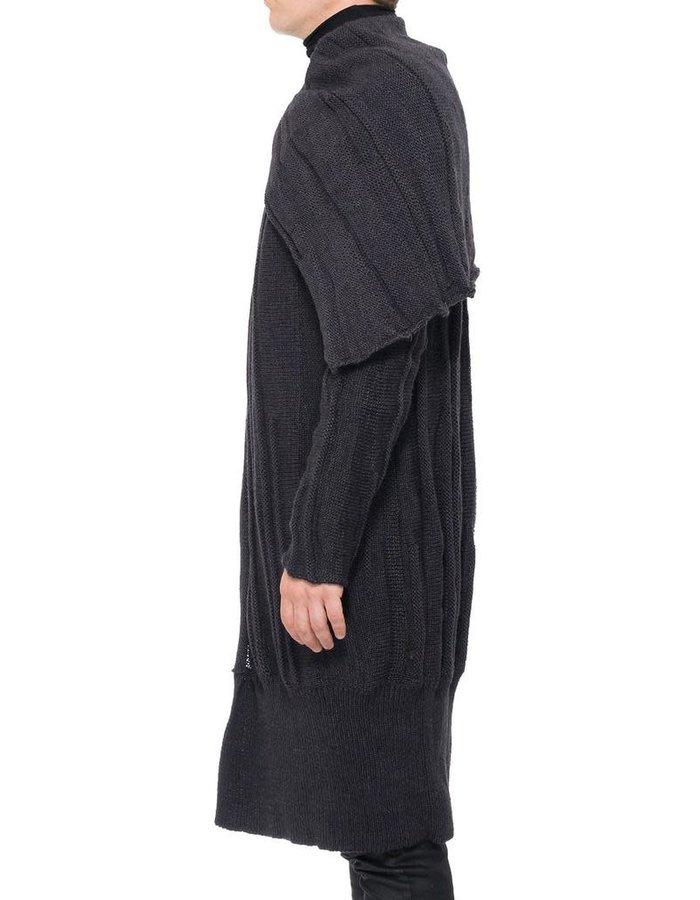 NOSTRA SANTISSIMA CAPE NECK SWEATER COAT