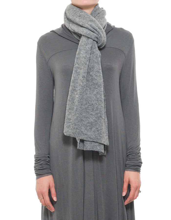 PAL OFFNER STITCHED SCARF - CARBON