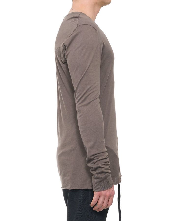 THOM KROM COTTON AND MODAL LONG SLEEVE - SAND