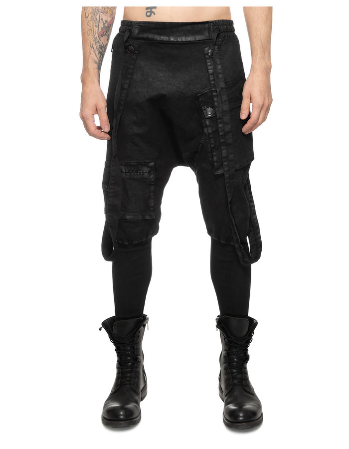 LA HAINE INSIDE US LAMINATED RIB LEG DECONSTRUCTED OVERALL