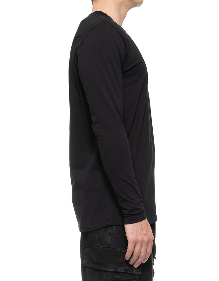 LA HAINE INSIDE US STRETCH COTTON SQUARE NECK LONG SLEEVE