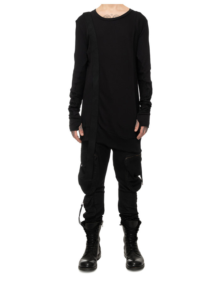 ARMY OF ME STRAPPED RIBBED SWEATSHIRT 43