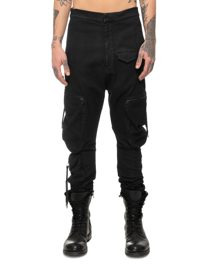 ARMY OF ME ZIP POCKET CARGO TROUSERS 55