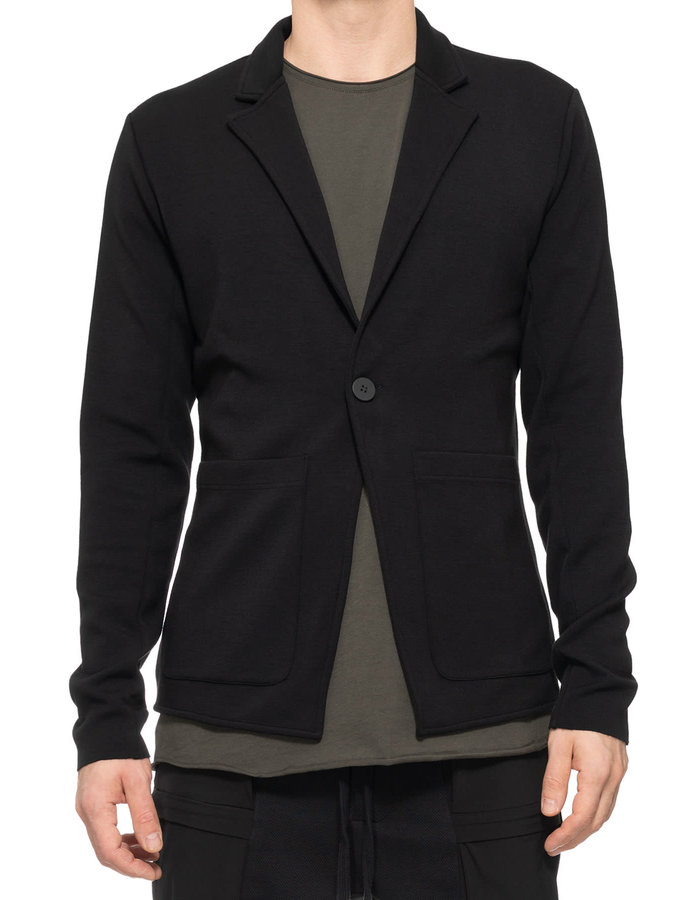 THOM KROM Stretch Modal Sweatshirt Blazer