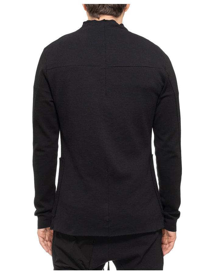 THOM KROM Collarless Stretch One Button Blazer