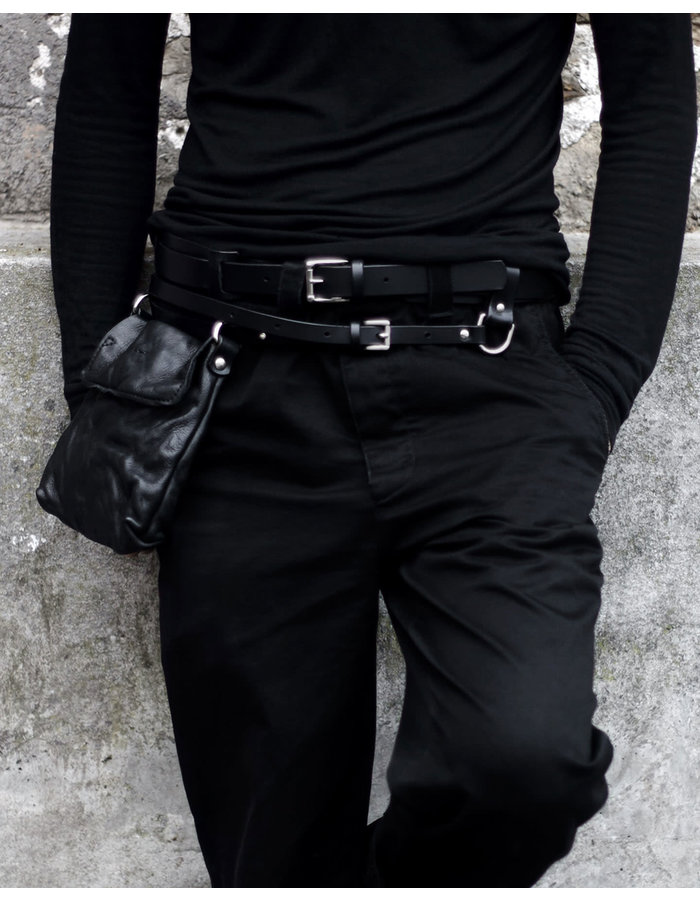 TEO + NG OSEN LEATHER BELT POUCH
