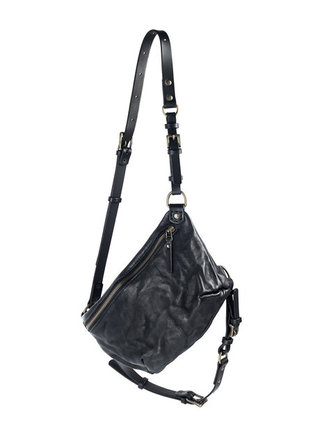 TEO + NG TAMIKO - LEATHER CROSS OVER BAG