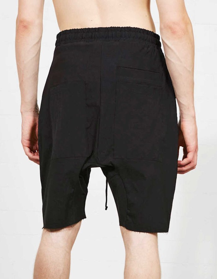 THOM KROM Linen and Viscose Short W/ Zip Pocket