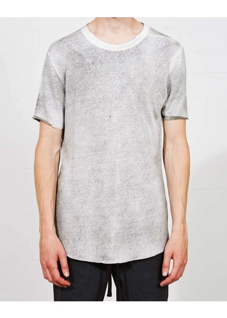 THOM KROM STRETCH LINEN TEE SS21 - SPRAYED