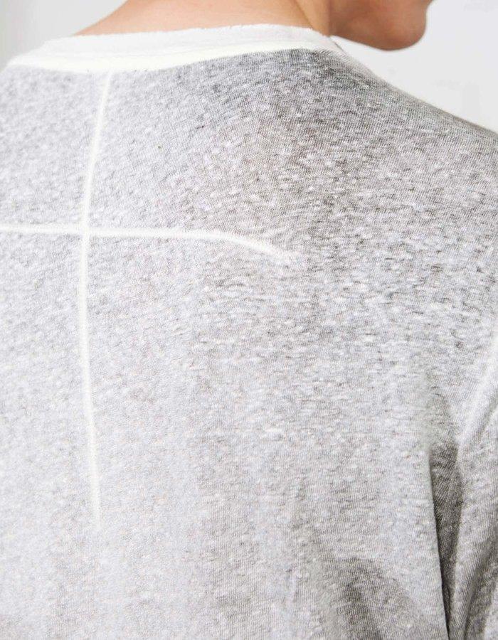 THOM KROM Stretch Linen Tee SS21 - Sprayed