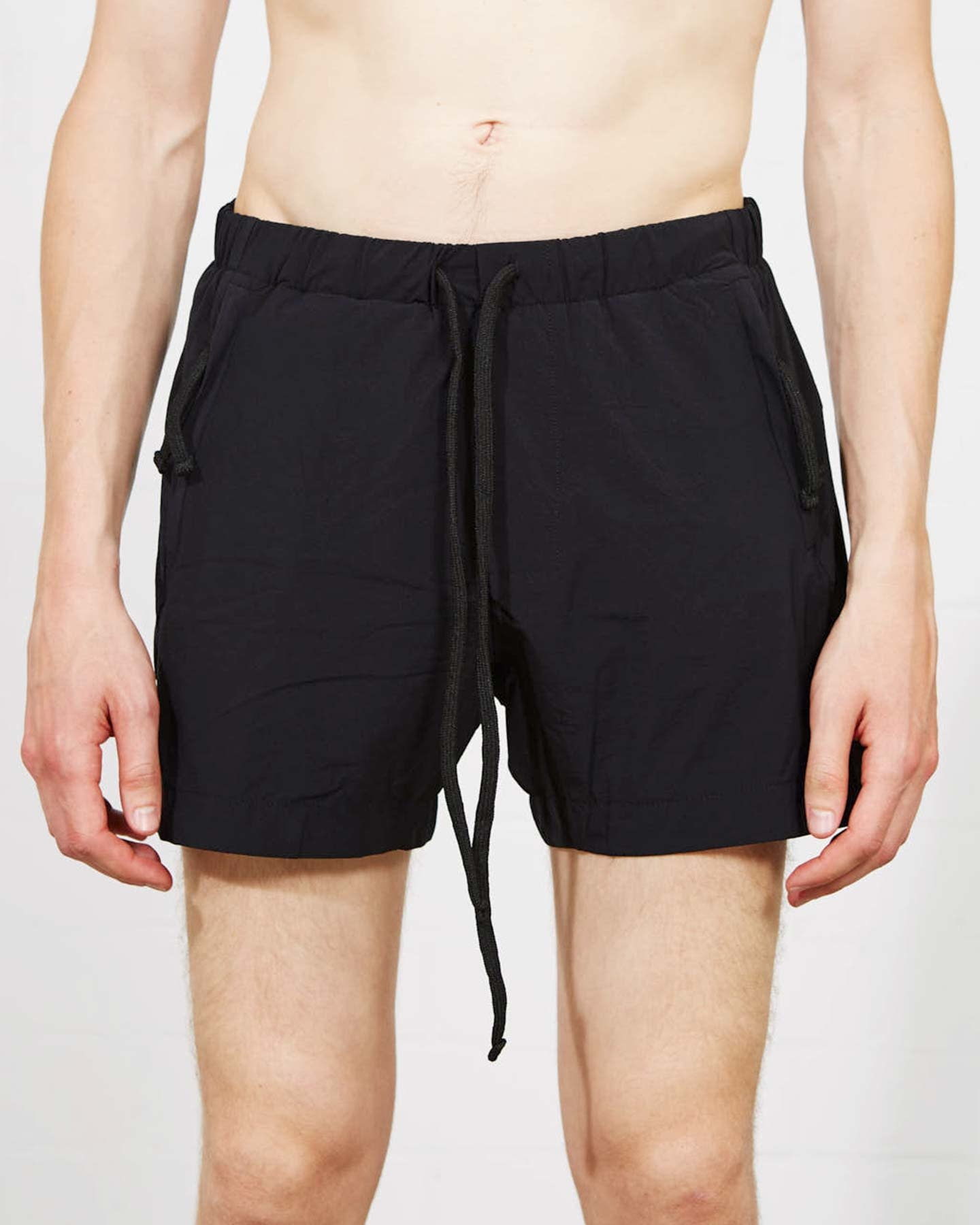 ZIP POCKET SWIM TRUNKS 21 - BLACK
