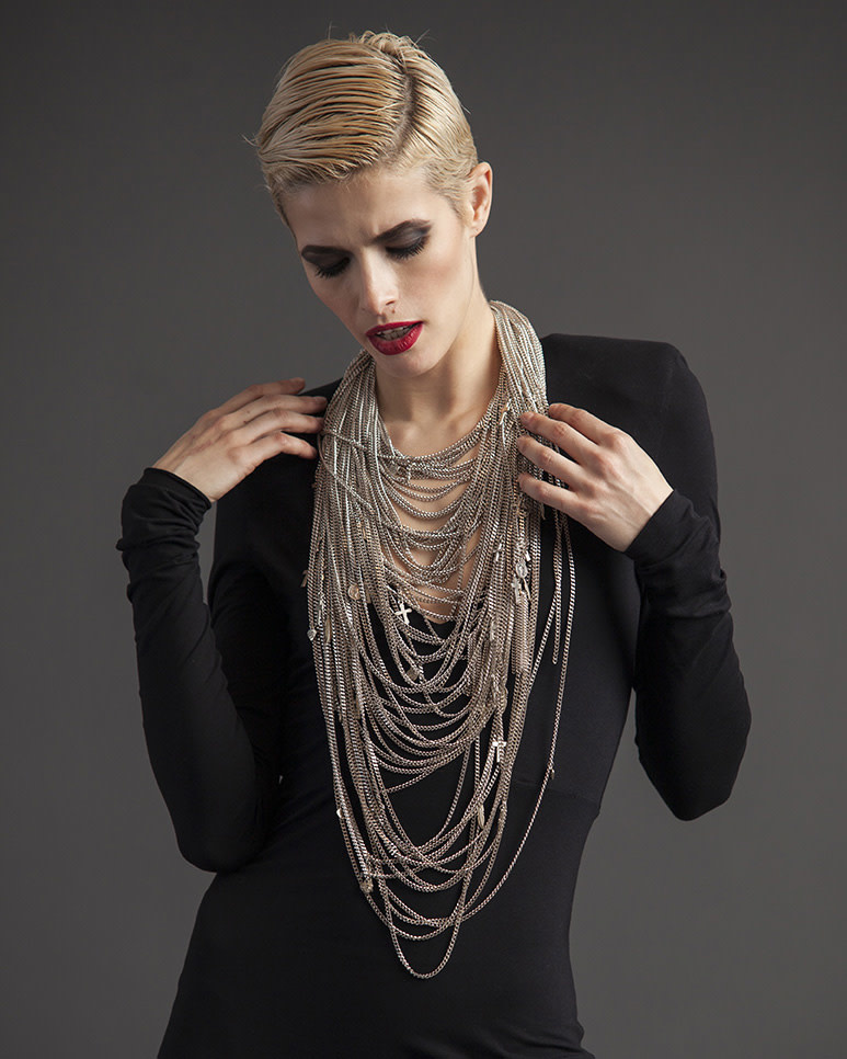 MULTI-CHAIN NECKLACE - SMALL CHAINS