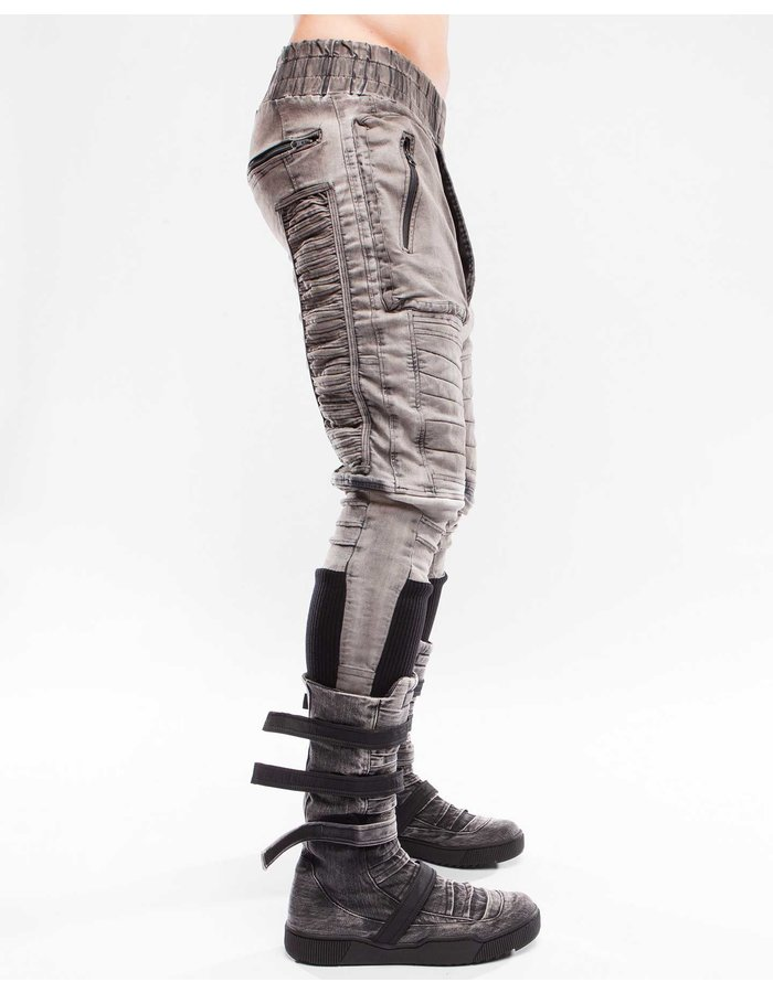 DEMOBAZA TROUSERS RE-SHAPE RIDE IN