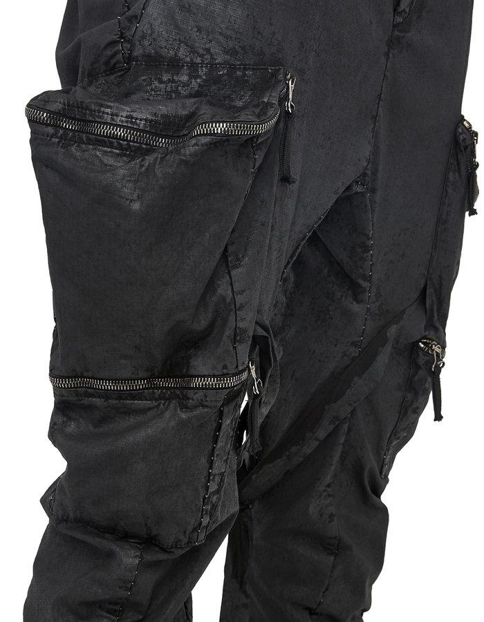 MASNADA WEDGE POCKET BONDAGE PANTS - RESIN