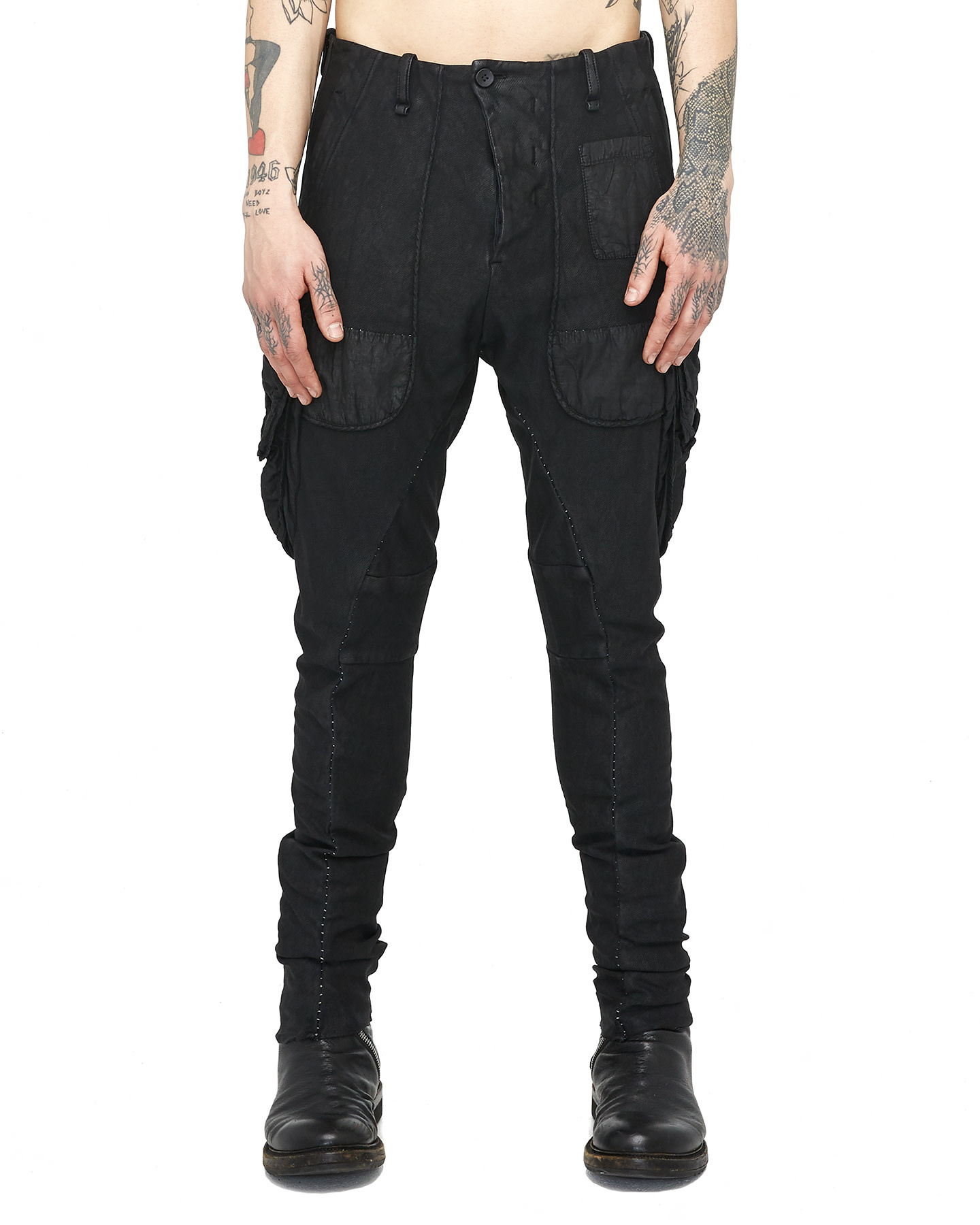 DUAL BATON POCKET PANTS - RESIN