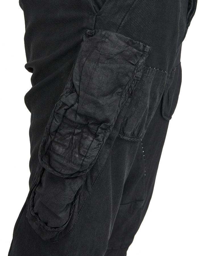 MASNADA DUAL BATON POCKET PANTS - RESIN