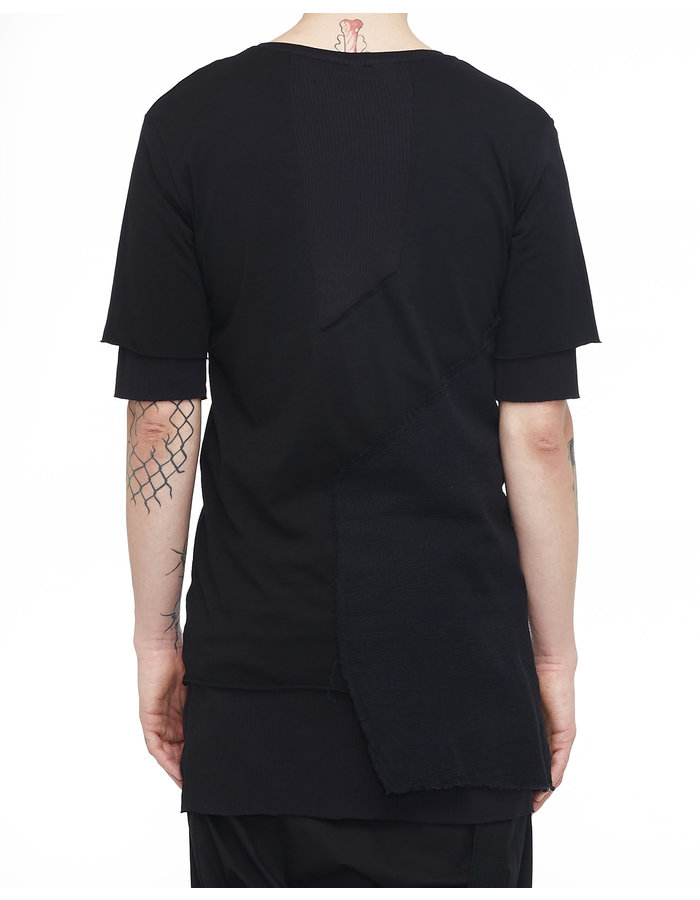 ARMY OF ME DOUBLE LAYERED T-SHIRT 29 - BLACK