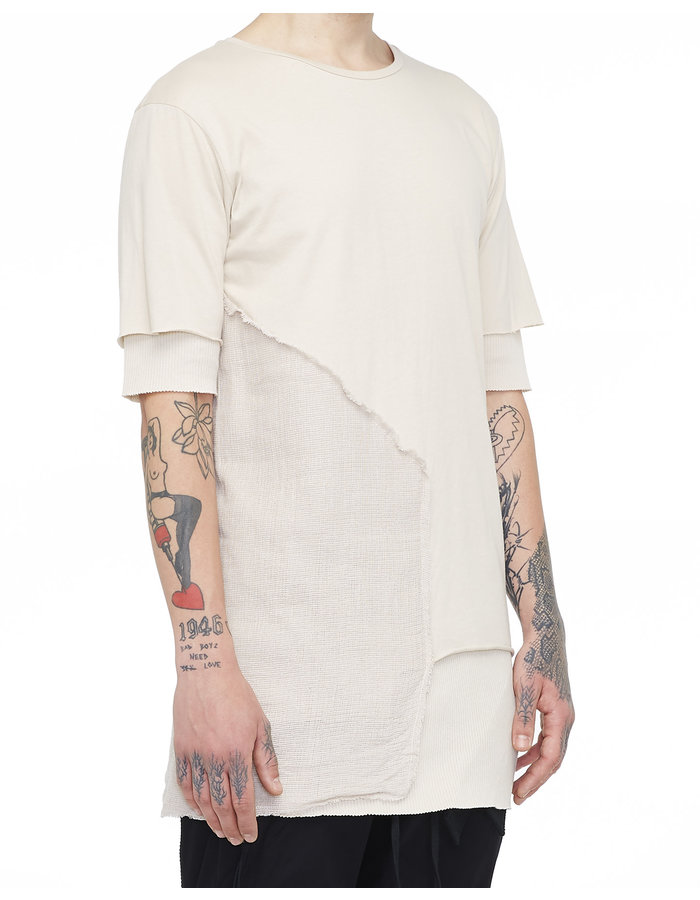 ARMY OF ME DOUBLE LAYERED T-SHIRT 29 - SAND