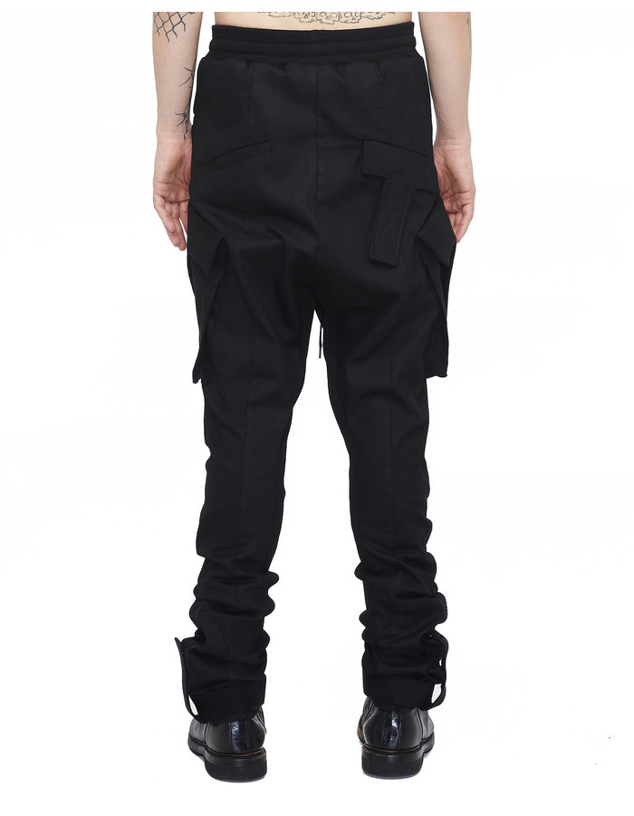 ARMY OF ME COATED T-POCKET CARGO TROUSERS 68