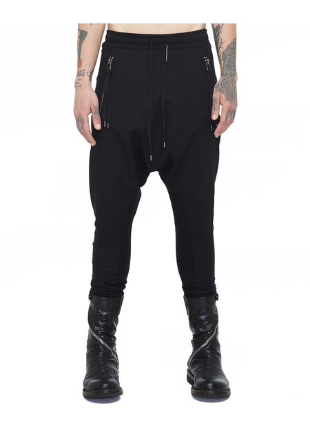 ARMY OF ME CONTRASTING WOVEN/JERSEY TROUSERS 73