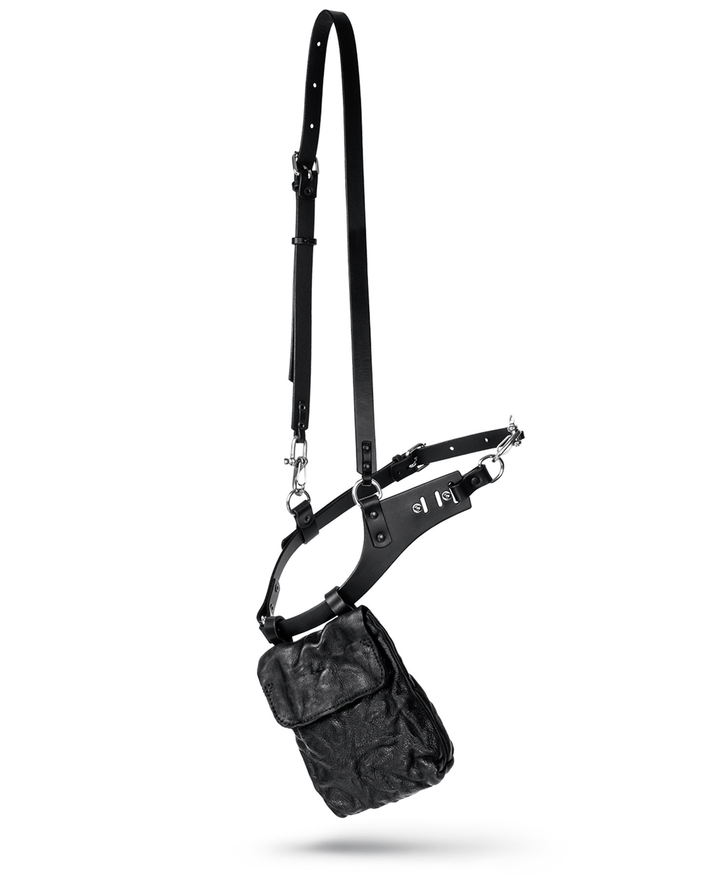 ELIX LEATHER HARNESS POUCH