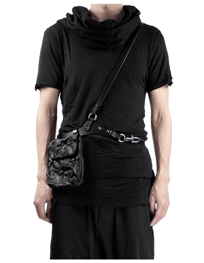 TEO + NG ELIX LEATHER HARNESS POUCH